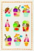 Geschirrtuch Früchte Ice Cream