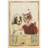 Geschirrtuch Hund & Katz