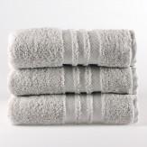 Lusso Basic Handtücher (silber)