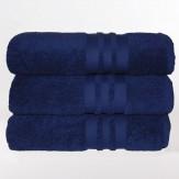 Lusso Basic Handtücher (dunkelblau)