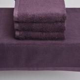 Solid Bamboo Handtücher (dunkelviolett)